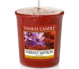 Yankee Candle Vibrant Saffron - Živoucí šafrán vonná svíčka votivní 49 g