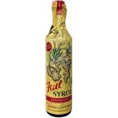 Kitl Syrob Bio Zázvor sirup pro domácí limonády, z čerstvě vylisované šťávy z kořene zázvoru v Bio kvalitě 500 ml