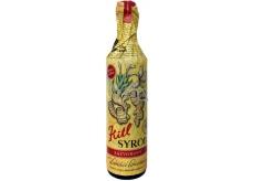 Kitl Syrob Bio Zázvorový sirup pro domácí limonády, z čerstvě vylisované šťávy z kořene zázvoru v Bio kvalitě 500 ml