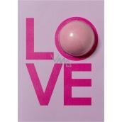 Bomb Cosmetics Love Card Šumivé přání s balistikem 40 g