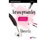 Ditipo Krasopísanky Moderní krasopis Hand lettering abeceda k procvičování 32 stran 7195002