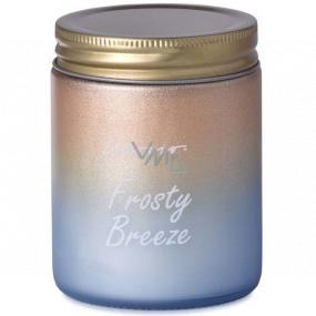Emocio Frosty Breeze - Mrazivý vánek vonná svíčka sklo s plechovým víčkem 74 x 95 mm