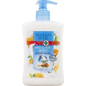 Bohemia Herbs Med a Kozí mléko krémové tekuté mýdlo 500 ml