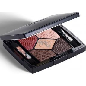 Dior 5 Couleurs Christmas Edition paletka 5ti očních stínů 886 Blazing Gold 6 g
