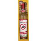 Bohemia Chardonnay Vše nejlepší 40 bílé dárkové víno 750 ml