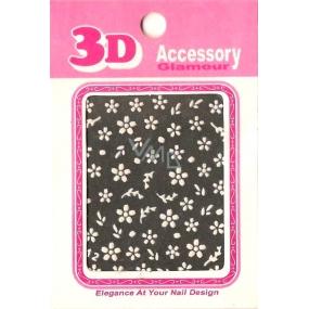Nail Accessory 3D nálepky na nehty 10100 S-12 1 aršík