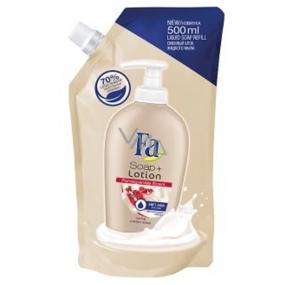 Fa Soap + Lotion Pomegranate Scent tekuté mýdlo náhradní náplň 500 ml