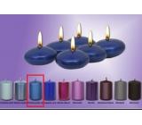 Lima Čočka plovoucí svíčka metal tmavě modrá 50 x 25 mm 6 kusů