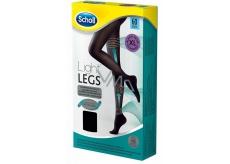 Scholl Light Legs Kompresní punčochové kalhoty XL černé 60 den pomáhají zabraňovat pocitu únavy nohou a snižují pocit těžkých nohou