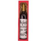 Bohemia Gifts & Cosmetics Merlot Staří přátelé červené dárkové víno 750 ml