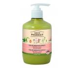 Green Pharmacy Mandle a Oves tekuté krémové zjemňující mýdlo 460 ml