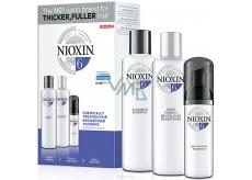 Nioxin System 6 3-fázový systém pro výrazně řídnoucí přírodní i chemicky ošetřené středně silné až silné vlasy šampon 150 ml + kondicioner 150 ml + ošetření pokožky 40 ml