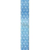 Nekupto Dárkový balicí papír 70 x 150 cm Modrý 970 40