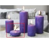 Lima Ledová svíčka fialová plovoucí čočka 70 x 30 mm 1 kus