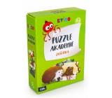 Albi Kvído Puzzle akademie Zvířátka doporučený věk 2+