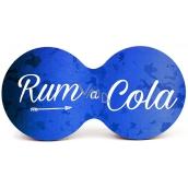 Nekupto Dvojtácek korkový podtácek Rum a cola 19 x 9,5 x 0,3 cm