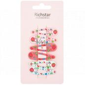 Richstar Accessories Sponky barevné s jahůdkou 5 cm 6 kusů