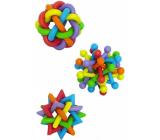 Papillon Latex Gumové hračky proplétané 7 cm různé druhy