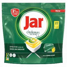 Jar Original All in One Lemon kapsle do myčky nádobí 22 kusů