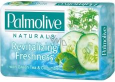 Palmolive Naturals Zelený čaj & Okurka tuhé toaletní mýdlo 90 g