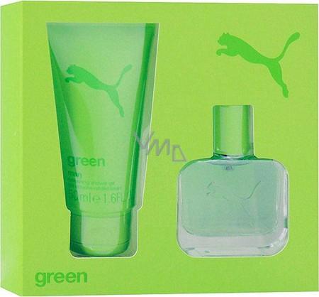 Aprendiz Factibilidad Refinar  Puma Green Man eau de toilette 25 ml + shower gel 50 ml, gift set - VMD  parfumerie - drogerie
