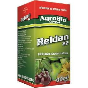 AgroBio Reldan 22 přípravek proti savým a žravým škůdcům 50 ml