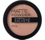 Gabriella Salvete Matte Powder SPF15 pudr 03 Soft Beige 8 g