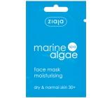 Ziaja Marine Algae Spa mořské řasy hydratační gelová pleťová maska 7 ml