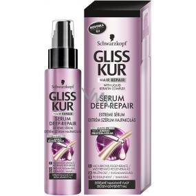 Gliss Kur Serum Deep Repair Extreme sérum pro extrémně namáhané vlasy 100 ml