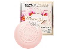 Jeanne en Provence Pivoine Féérie - Pivoňková víla tuhé toaletní mýdlo 100 g