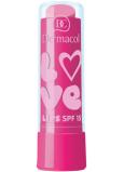 Dermacol Love Lips SPF15 balzám na rty 09 Bubble Gum 3,5 ml