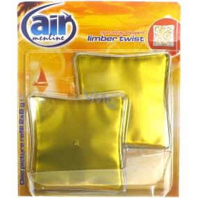 Air Menline Deo Picture Non Stop Elegant Limber Twist gelový osvěžovač vzduchu náhradní náplň 2 x 8 g
