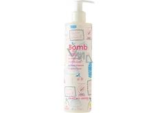 Bomb Cosmetics Sladká/ý jako třešňový koláč tělové mléko s dávkovačem 300 ml