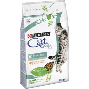 Purina Cat Chow Special Care Sterilised kompletní krmivo pro kastrované kočky 1,5 kg