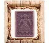 Bohemia Natur Selka 3D ručně vyráběné mýdlo v krabičce 85 g