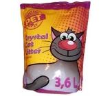 Silica Happy Cool Pet Original vysoce absorpční silikonové stelivo pro kočky 3,6 l