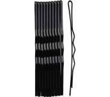 Duko Vlasové spony 526B černá 6 cm 10 kusů