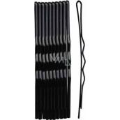 Duko Vlasové spony černá 6 cm 10 kusů 526B