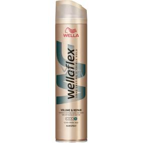 Wella Wellaflex Volume & Repair Ultra Strong Hold ultra silné zpevnění lak na vlasy 250 ml