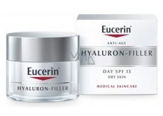 Eucerin Anti-Age Hyaluron-Filler SPF15 a UVA filtr denní vyplňující krém proti vráskám pro suchou pleť 50 ml