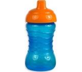 First Steps Spill Proof Sipper Cup láhev nekapající pro děti 12+ modrá 310 ml