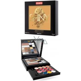 Pupa Pupart M Shiny Make-up kazeta pro líčení očí, rtů a obličeje 023 Golden Fever 22 g