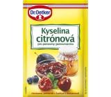 Dr. Oetker Kyselina citrónová do potravin 20 g