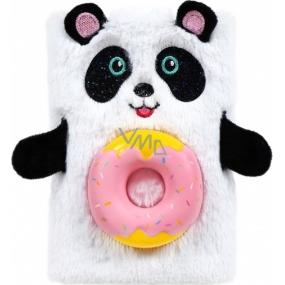 Albi Diář od září 2019 do července 2020 týdenní student plyšový Panda 18,5 x 13 x 2,5 cm