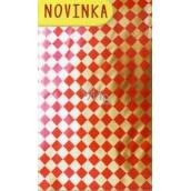 Nekupto Celofánový sáček Vánoční červený 15 x 25 cm CI 174 30