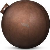 Novus Pila balanční sedací míč, umělá kůže, hnědý 65 cm