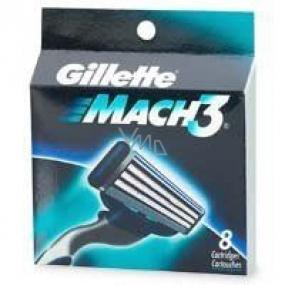 Gillette Mach 3 náhradní hlavice 8 ks