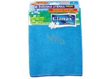 Clanax Profi švédská utěrka z mikrovlákna 40 x 40 cm, 280 g 1 kus