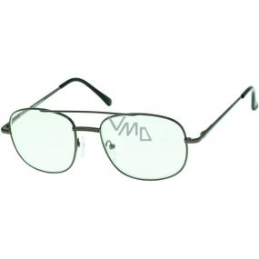 Berkeley Čtecí dioptrické brýle +2,0 černé velké 1 kus MC2004