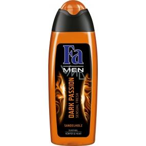 Fa Men Dark Passion sprchový gel na tělo a vlasy pro muže 250 ml